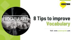 8 tips to improve vocabulary