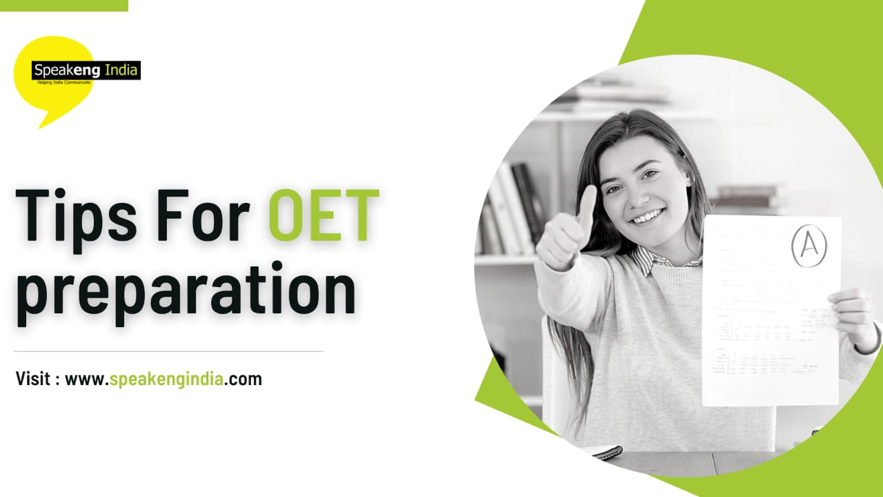 You are currently viewing Tips for OET preparation