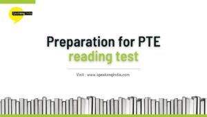 Read more about the article Preparations for PTE Speaking test
