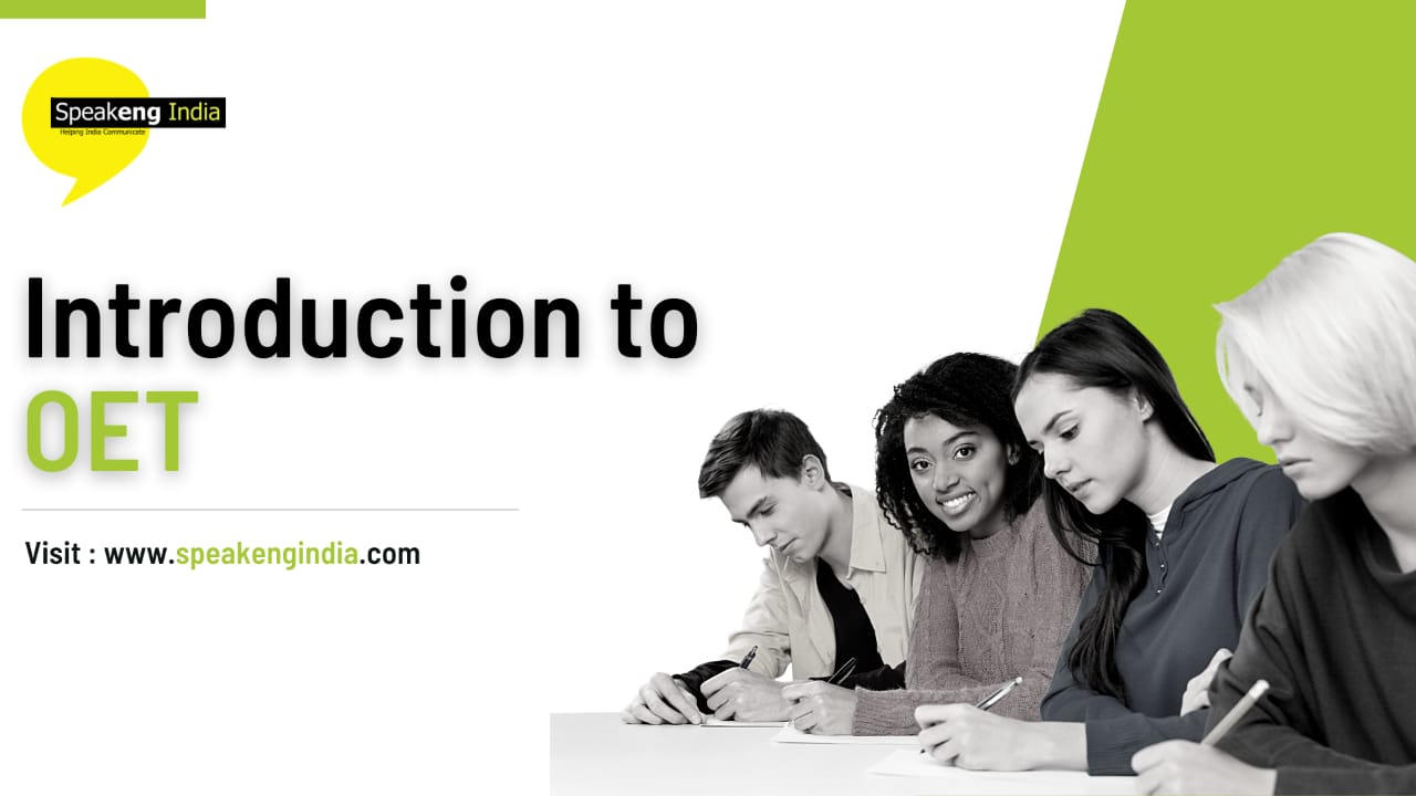 Read more about the article Introduction to OET